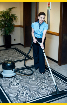 WomanVacuumingB